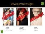 development stages