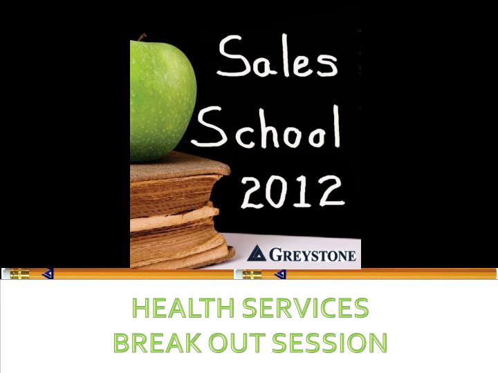 health services break out session n.