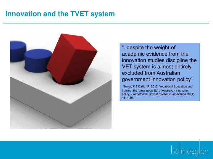 Innovation and the TVET system