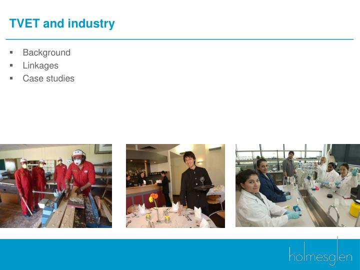 TVET and industry