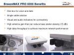 breezemax pro 6000 benefits