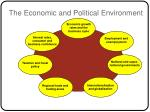 the economic and political environment