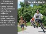 benefits health