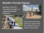 benefits provide choices