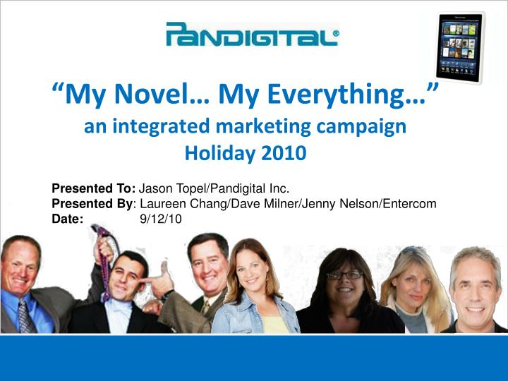 my novel my everything an integrated marketing campaign holiday 2010 n.
