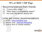 75 of seo off page