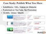 case study publish what you have
