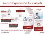 avaya experience tour assets1