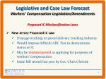 legislative and case law forecast workers compensation legislation amendments2