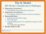 the ic model irs worker classification challenges1