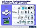 advantech s intelligent automation product range for iot solutions