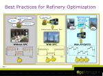 best practices for refinery optimization