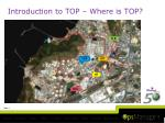 introduction to top where is top