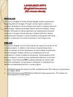 language arts english literature 90 minute block