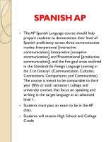 spanish ap