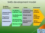 smes development model