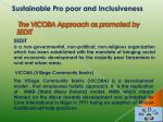 the vicoba approach as promoted by sedit