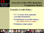 overview of the smu bachelors completion model1