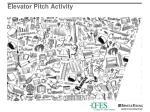 elevator pitch activity