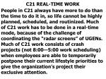 c21 real time work