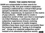 pomo the ugen psyche