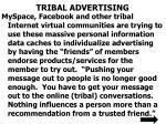 tribal advertising