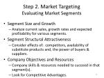 step 2 market targeting evaluating market segments