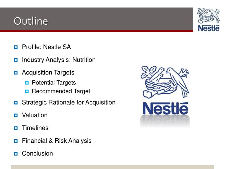 nestles proposal for finane Under the proposed settlement, nestlé hcn has agreed to stop claiming that  boost kid essentials will reduce the risk of colds, flu, and other.