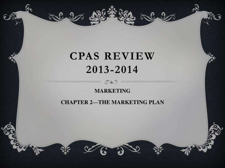 cpas review 2013 2014 n.
