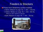feeders stockers