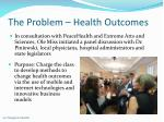 the problem health outcomes