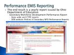 performance emis reporting8
