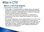what is cte3