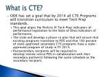 what is cte4