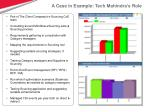 a case in example tech mahindra s role