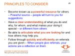 principles to consider1