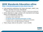ieee standards education ezine http standardsmagazine ieee elearning org