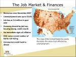 the job market finances