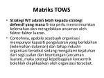 matriks tows4