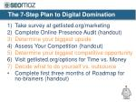 the 7 step plan to digital domination