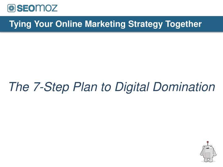 tying your online marketing strategy together n.