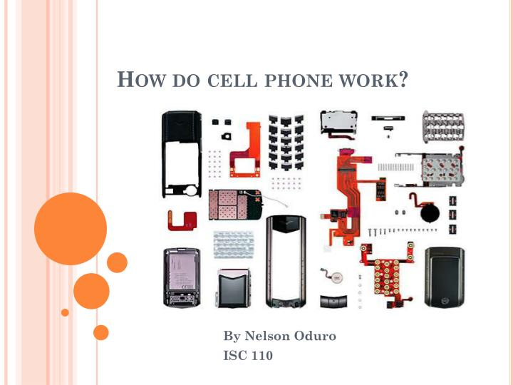 how do cell phone work n.