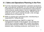 4 1 sales and operations planning in the firm