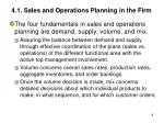 4 1 sales and operations planning in the firm1