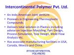 intercontinental polymer pvt ltd1