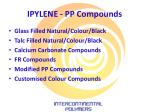 ipylene pp compounds