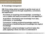 iii knowledge management14