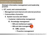 strategic information management and leadership practice3