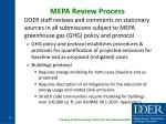 mepa review process
