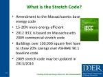what is the stretch code